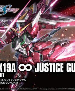 HG Cosmic Era ZGMF-X19A Infinite Justice Gundam