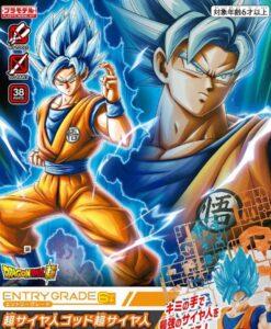 Super Saiyan God Super Saiyan Son Goku Entry Grade