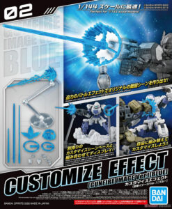 30MM Customize Effect 02 Gunfire Image Blue