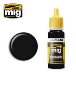 AMIG0046 Matt Black Color AMMO
