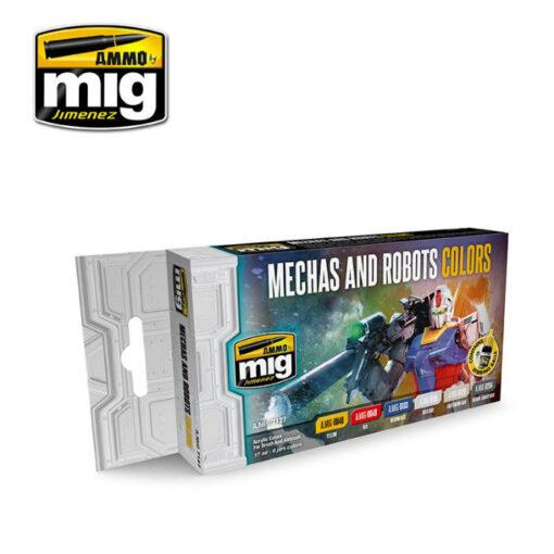 AMIG7127 Robots Mechas Colors AMMO Mig