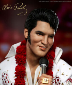 Elvis Aaron Presley Quarter Scale Superb Scale Statue