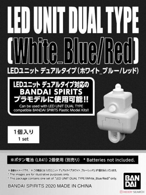 LED Unit Dual Type White Blue Red