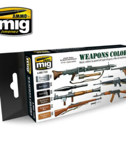 AMIG7123 Weapons Colors AMMO Mig