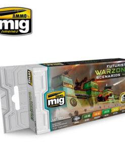 AMIG7154 Futuristic Warzone AMMO Mig
