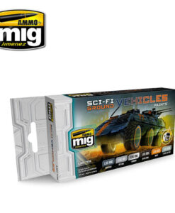 AMIG7155 Sci-Fi Ground Vehicle AMMO Mig