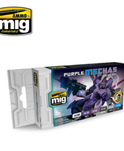 AMIG7157 Purple Mechas Colors AMMO Mig