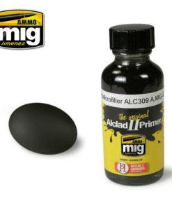 AMIG8211 Black Microfiller Primer ALC309 Alclad AMMO