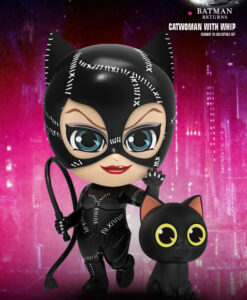 Batman Returns Catwoman Whip Collectible Set Cosbaby Series