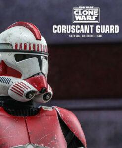 Clone Wars Coruscant Guard Sixth Scale Figure TMS