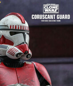 Clone Wars Coruscant Guard Sixth Scale Figure TMS