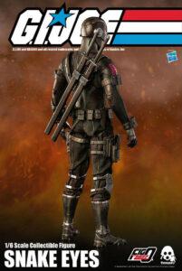 G.I. Joe Snake Eyes Sixth Scale Collectible Figure