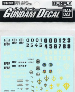 Gundam Decal Set 0083 Series