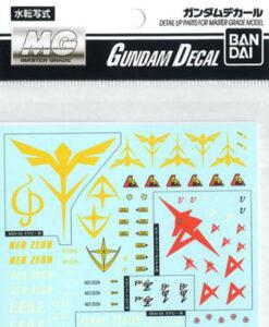 Gundam Decal Set Char Counterattack Series