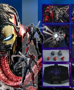 Maximum Venom Venomized Iron Man Sixth Scale Figure
