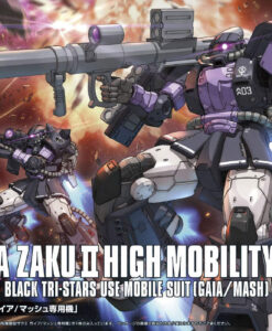 Origin Zaku II High Mobility Type Gaia Mash