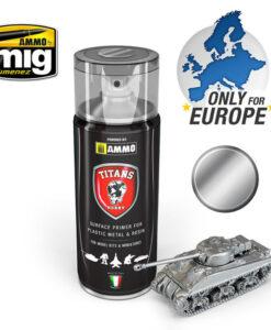 TTH109 Bare Metal Spray Primer Titans Hobby