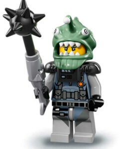 71019 LEGO Minifigures Ninjago Movie Shark Army Angler