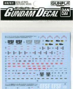 Gundam Decal Set Gundam Thunderbolt