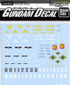 Gundam Decal Set MG Zeta Gundam Series