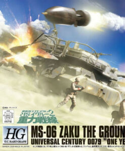 High Grade U.C. Hard Graph MS-06 Zaku The Ground War Set