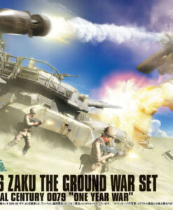 High Grade U.C. Hard Graph MS-06 Zaku The Ground War Set