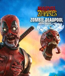 Marvel Zombie Deadpool Sixth Scale Figure CMS
