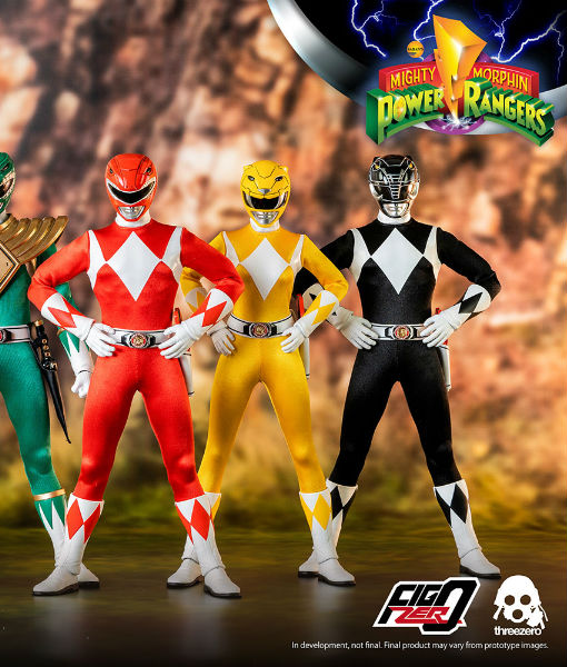 Power Rangers Core Ranger Sixth Scale Figure Pack