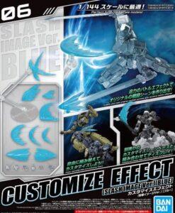 30MM Customize Effect 06 Slash Image Blue