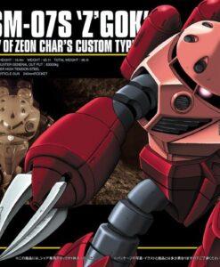 HG Universal Century MSM-07S Z'Gok Char