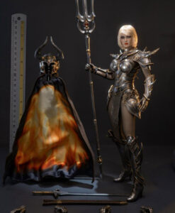 Knight Fire Silver Sixth Scale Action Figure TBLeague