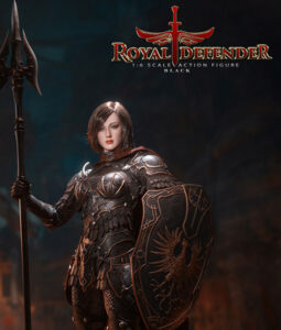 Royal Defender Black Sixth Scale Action Figure TBLeague