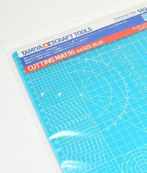 Tamiya 74149 Cutting Mat A4 Blue