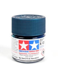 Tamiya 81513 Acrylic Mini X-13 Metallic Blue
