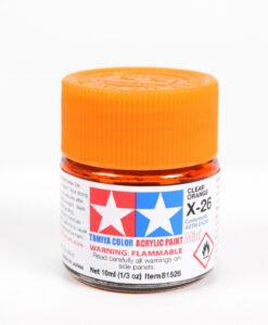 Tamiya 81526 Acrylic Mini X-26 Clear Orange