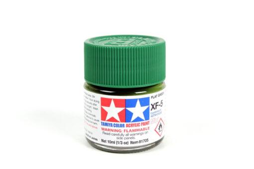 Tamiya 81705 Acrylic Mini XF-5 Flat Green