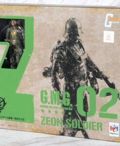 G.M.G. Gundam Military Generation Zeon Army 02 Action Figure