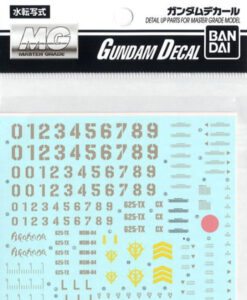 Gundam Decal Set MSM-04 Acguy