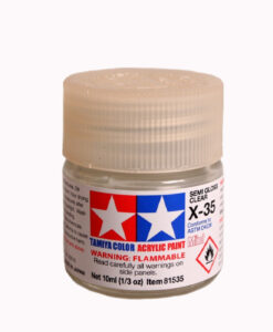Tamiya 81535 Acrylic Mini X-35 Semi Gloss Clear