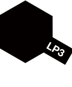 Tamiya 82103 Lacquer LP-3 Flat Black