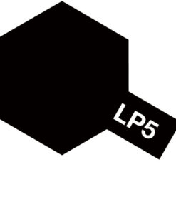 Tamiya 82105 Lacquer LP-5 Semi Gloss Black