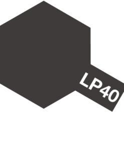 Tamiya 82140 Lacquer LP-40 Metallic Black