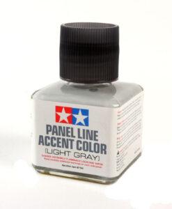Tamiya 87189 Panel Line Accent Color Light Gray