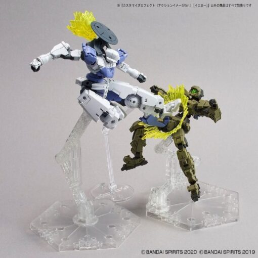 30MM Customize Effect 07 Action Image Yellow