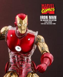 Iron Man Deluxe Sixth Scale Figure Comics Diecast