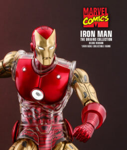 Iron Man Deluxe Sixth Scale Figure Comics Diecast