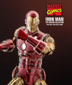 Iron Man Sixth Scale Figure Comics Diecast