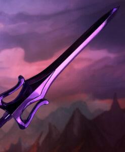 MOTU Skeletor Sword Scaled Prop Replica