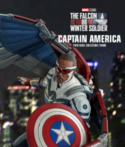 Falcon Captain America Sixth Scale Figure TMS