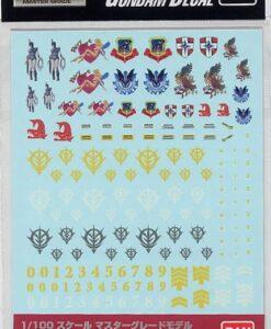 MG Gundam Decal Set MS Zeon 1